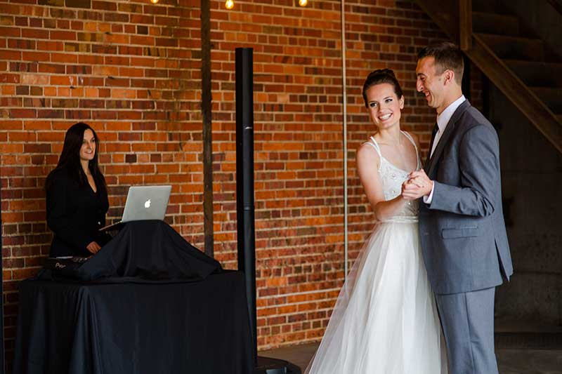 courtney djing breckenridge wedding