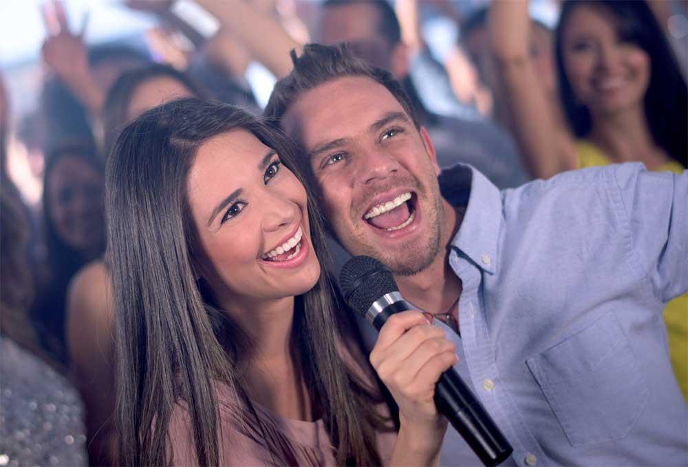 Karaoke Couple